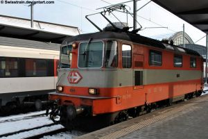 SBB Re 4-4 II 11108 by SwissTrain