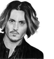 Johnny Depp by She-sAPirate
