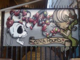 e2ra pound by PerthGraffScene