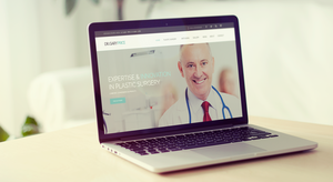 Mockup Landing Page Dr. Gary Price by degraphic