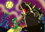 King Bowser Awakes by SeltzerWaterfalls