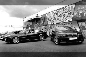 M3 E46 coupe et cab. by psycko91