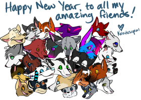 Happy New Year! by kaleidoscopial