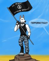 You are terrorist! by BullTerrierKa