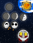 Moon Phases-Faces by NeoMetalShadow