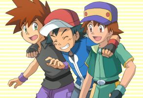 3 Kanto Trainer by nyarths3