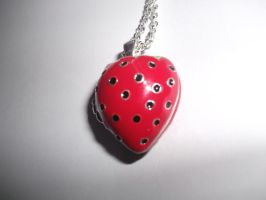 Sweet Berry Necklace by PsychicHexo