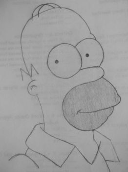 Homer Simpson by Darvia123