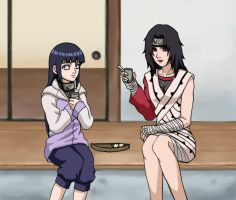 Kurenai+Hinata for La-Reine by sonteen12
