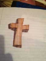 a cross i colored by Nadeeta