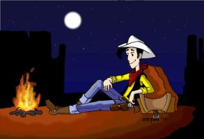 Lucky Luke by st33frn