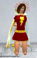 Mary Marvel: Bad Hypno Slave by The-Mind-Controller