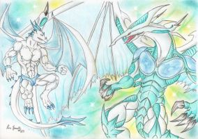 Animar vs. Stardust dragon (complete) by Spere94