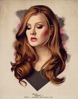 Adele Vector by Rawan091