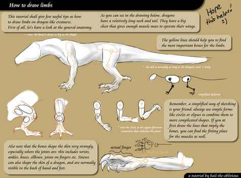 TUT: how to draw limbs by hail-the-oblivious