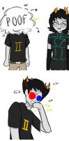 What If Sollux Let Aranea Heal His Eyes by SweetFanoholic