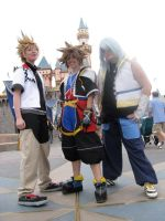 Kingdom Hearts in Disneyland by FightingDreamersPro
