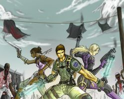 Resident Evil 5 by Partin-Arts