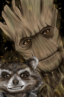 Guardians of the Galaxy! by Karenscarlet