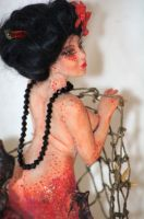 ooak Geisha Mermaid - more pictures by incantostudios