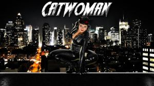 Catwoman cosplay wp 2 starring Ed-Elric-Cosplay by SWFan1977
