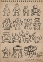 Sketchbook ROBOTZ Concepts 2 by radu-jm