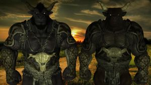 The Minotaur Brothers by Spino2006
