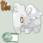 Starter: Mt.minicule mammoth by G-FauxPokemon