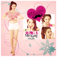 Pack PNG Min Kyung (Davichi) by GAJMEditions