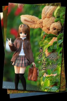 Happy Easter Himeno Style 01 by aliasangel2005