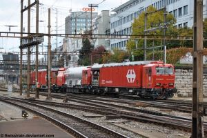 Railway Firefighter Basel by SwissTrain