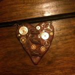 Steampunk Heart Pendant by Tiff-Angel-Creations