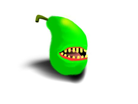 The Biting Pear of Salamenca by Cheetogod