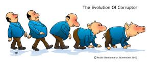 the Corruptor Evolution by IborArt