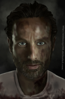 The Walking Dead - Rick by ArchXAngel20