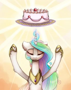rising the cake by MagnaLuna