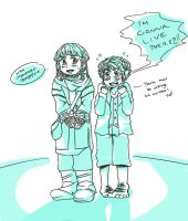 Ori and Bilbo the cutest guys in the company by Durch-Leiden-Freude