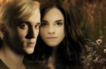 Draco and Hermione by feltsbiannn