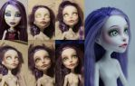 My first doll repaint by AshiMonster