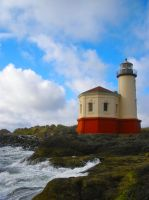 Coquille Lighthouse by Thundercatt99