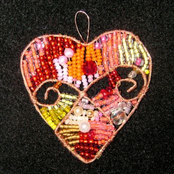 beads heart by Toniiko