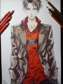 Levi Ackerman II by Lemoniada98