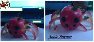 Apple apple spyder by Starleaf-Creations