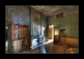 Old Fireplace by 2510620