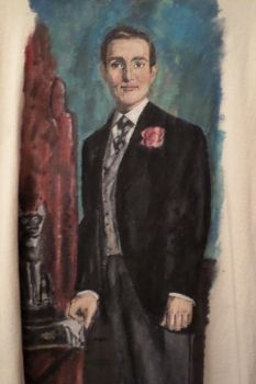 Dorian Gray T-shirt (Front view) by R-Marie