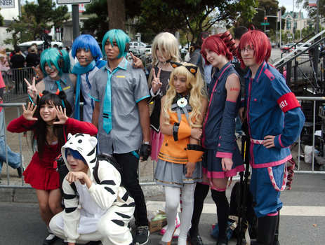Vocaloid Group - J-Pop Summit Festival 2014 by Chocobogirl12