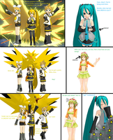 [MMD Comic] So, Green is the Enemy? by TyrannosaurusRex-123