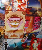 Surf Collage Detail 1b by ChaoticatCreations