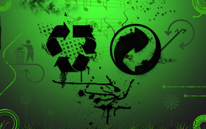 Recycle by b3nART