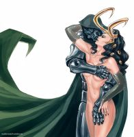 Doom x Lady Loki by maXKennedy
